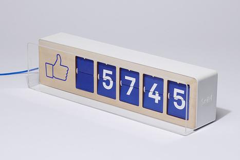 Un compteur de fans Facebook que les commerçants peuvent installer en vitrine ! | Web Social | Scoop.it