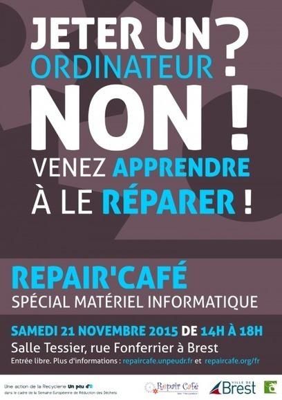 Repair Café informatique à Brest le samedi 21 novembre 2015 - @ Brest   Pour une autre manière de consommer   Scoop.it