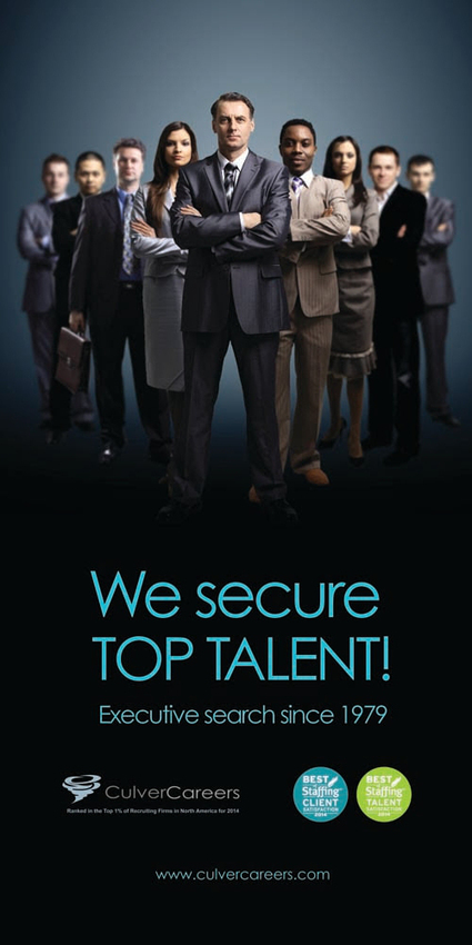 35 Years and still securing You the  BEST TALENT! | Culver Careers New York | Scoop.it