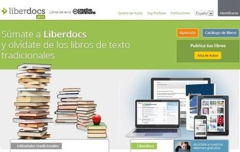 Liberdocs, libros de primaria, ESO y bachillerato bajo licencia Creative Commons   Tecnologias de la Información   Scoop.it