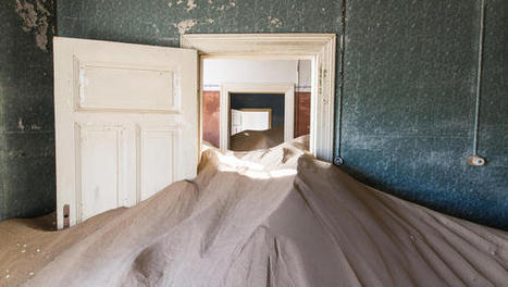 Incredible Images Of A Namibian Ghost Town, Taken Over By The Desert | Abandoned places, urban and industrial exploration | Scoop.it
