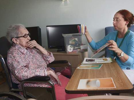 Elder Care Centers Try To Bridge Language Gap - The Ledger | Speech-Language Pathology | Scoop.it