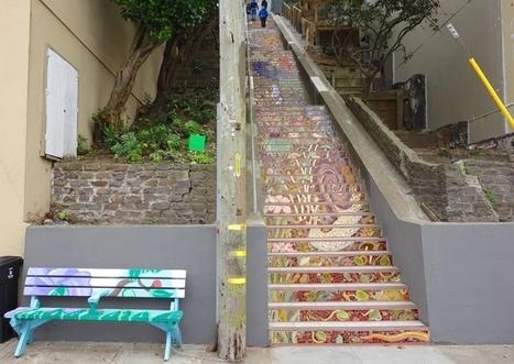 Hidden Garden Steps Mural Completed | Synapse | Hidden Garden Steps | Scoop.it