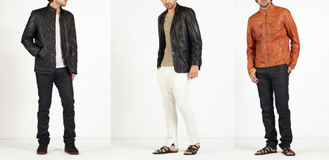 hE^2   hELium   Leather Jackets   Coats   Trousers   Biker   Leather   Scoop.it