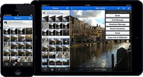 Dropbox 2.0 launches for iOS with new Photos tab and a streamlined UI | ipadsineducation | Scoop.it