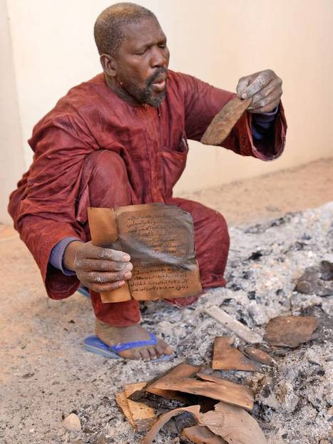 Mali's religious scholars cunningly save ancient Islamic manuscripts from Salafist fighters in Timbuktu | Mali | Scoop.it