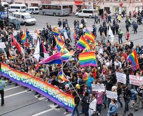 Russia's biggest gay rights protest held since anti-gay laws were enforced | Gender, Religion, & Politics | Scoop.it