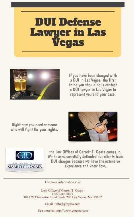 Las Vegas DUI Defense Attorney — If you have been charged with a DUI in Las Vegas,... | Crimanal Attorney | Scoop.it