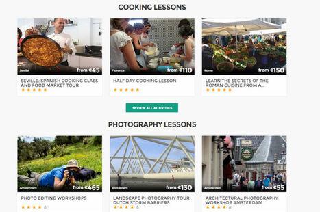 Experitus, la plate-forme qui permet aux touristes d'apprendre avec ... - L'Usine Digitale | Tourisme et e-tourisme | Scoop.it