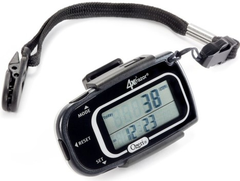 Best Pedometers Reviews And Ratings   step counter pedometer   Scoop.it