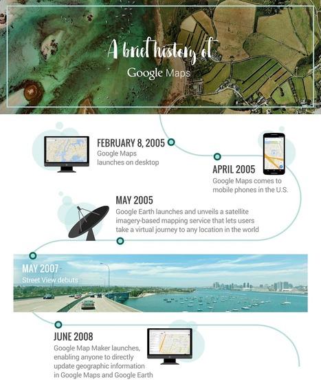 Geoinformación: Google Maps: 10 años de enriqueciendo el mundo de los mapas. | #GoogleMaps | Scoop.it