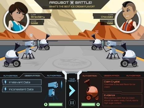 GlassLab teams with NASA to Teach Kids the Art of Arguing - Gamification Co   Learning online   Scoop.it