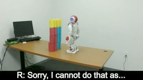 "Robots are learning to say ""no"" to human orders 