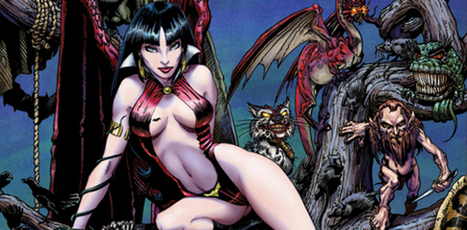 How Award-Winning Novelist Nancy Collins Plans to Bring VAMPIRELLA Back to Horror Roots | Ladies Making Comics | Scoop.it