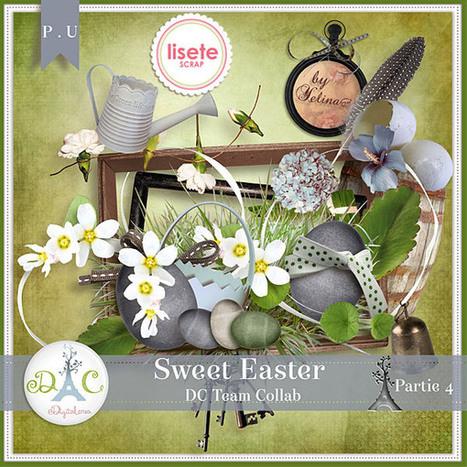 Sweet Easter part 5  - kit free digital scrapbooking | MOnica e lo scrapbooking | Scoop.it