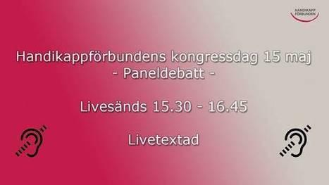 Handikappförbunden: Livekalender | Folkbildning på nätet | Scoop.it