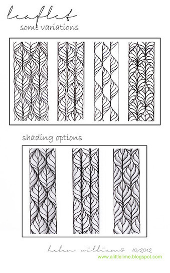 a little lime: Step-by-steps & patterns   Artistic Line Designs-all free   Scoop.it
