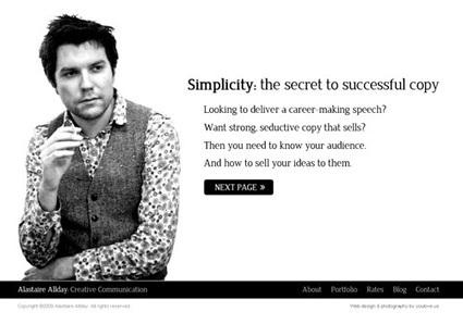 50 Fresh Portfolio Websites for Your Inspiration | Smashing Magazine | Webdesign-Annemiek | Scoop.it