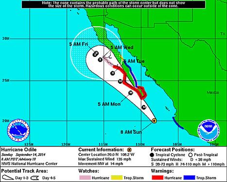 Hurricane ODILE   Cabo San Lucas   Scoop.it
