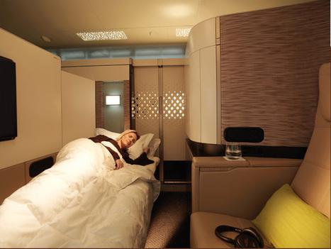 Etihad dévoile sa nouvelle Première classe sur A380 et B787 – vidéos   Le tourisme d'affaires (MICE)   Scoop.it