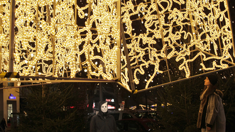 brut deluxe adorns berlin with holiday light installations - designboom | architecture & design magazine | light design | Scoop.it