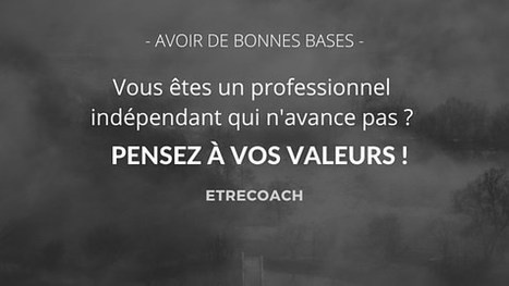 Pensez-vous à satisfaire vos valeurs dans votre métier ? | Webmarketing et Réseaux sociaux | Scoop.it