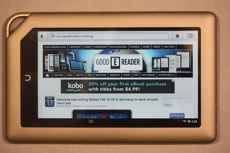 Barnes and Noble Nook Tablet Review | Good E-Reader - ebook Reader and Tablet PC News | eBooks in Libraries | Scoop.it