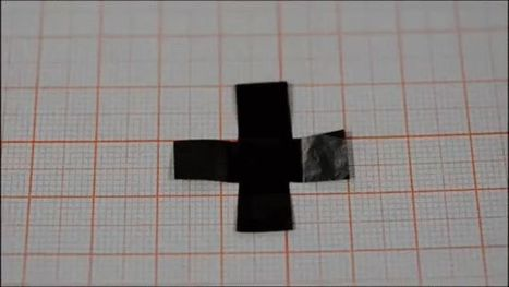 This Graphene-Based Paper Can Walk, Fold and Twirl on Its Own   Strange days indeed...   Scoop.it