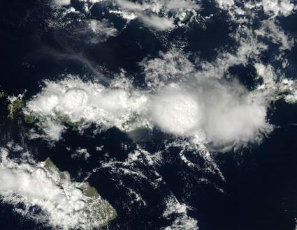 Image: Aqua satellite captures striking cloud towers | Sustain Our Earth | Scoop.it