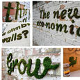 Moss graffiti | DIY avec 2 mains gauches | Scoop.it