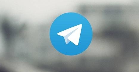 Cómo utilizar los nuevos bots de Telegram | Web 2.0 en educación - UNET | Scoop.it