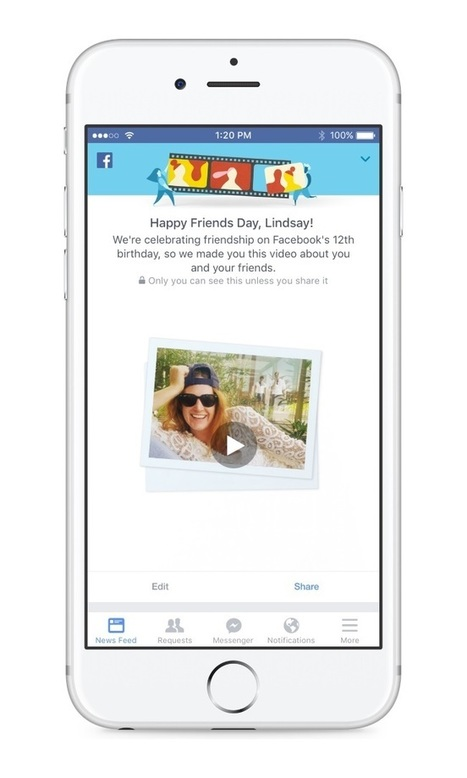 Facebook Celebrates 12th Birthday With Friends Day #friendsday | MarketingHits | Scoop.it