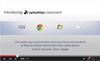 A Great Tool to Remotely Present and Share Lessons with Students | immersive media | Scoop.it