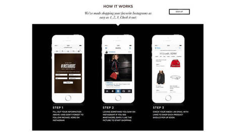 Michael Kors Debuts Shoppable Instagram | Digital & Social Media Case | Scoop.it
