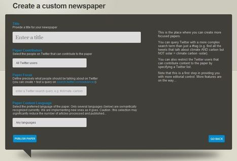 How To: Create a Twitter Newspaper with Paper.li - AllTwitter | Social Media | Scoop.it