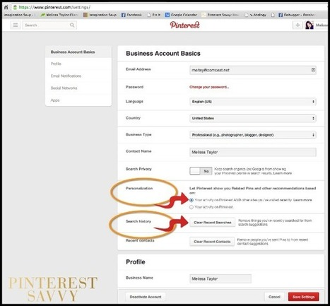 What to Do If You've Got a Wonky Pinterest Feed (It's Pinterest Personalization) - Pinterest Savvy: Strategies, Plans, and Tips to Grow Your Business with Pinterest   Pinterest   Scoop.it