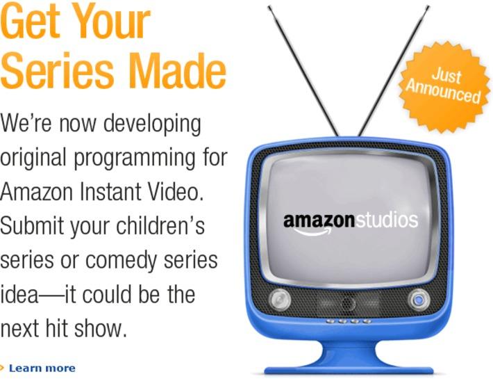Welcome Series Writers and Creators : Amazon Studios   Machinimania   Scoop.it