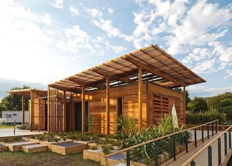 Students' Award-Winning Home Leaves Small Footprint | Inspired By Design | Scoop.it