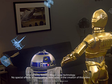 Magic Leap et Lucasfilm testent la narration en réalité mixte avec Star Wars - CNET France | Narration transmedia et Education | Scoop.it