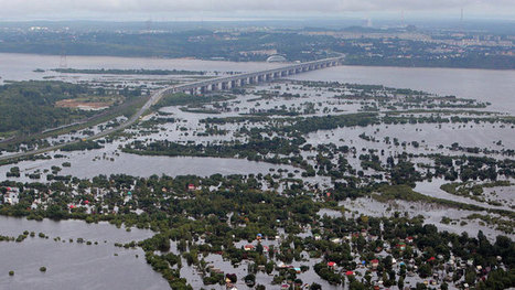 Russia's Far East braces for peak of floods, builds 9-meter-high ... | Grade 10 | Scoop.it