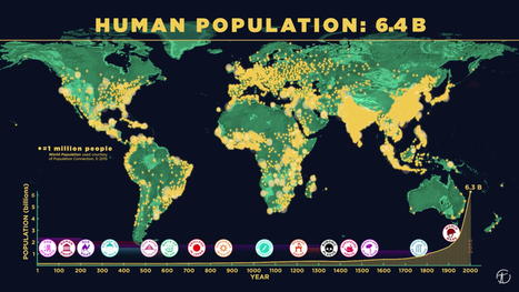 Watch Humans Conquer the Planet In 6 Minutes - D-brief | Internationalisation of Higher Education | Scoop.it