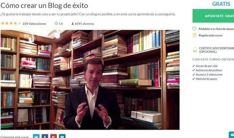 Curso gratis: ¿Cómo crear un Blog de Éxito y ganar dinero con él?   Educativas   Scoop.it