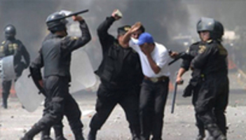 SICKENING: Mexico City Police Violently Crackdown on Occupying Teachers