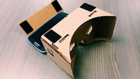 How to make a VR headset with a pizza box, smartphone and $21 worth of tech | Machinimania | Scoop.it