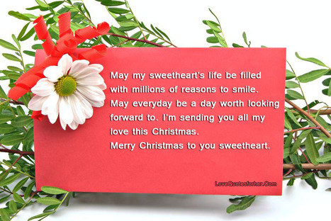 Merry Christmas Love Quotes For Her and Hi   Love Quotes For Her   Scoop.it