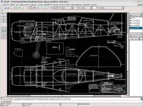 Dibujo técnico con QCAD (Tecnologías de la Información 1º BACH ... | Dibujo técnico | Scoop.it