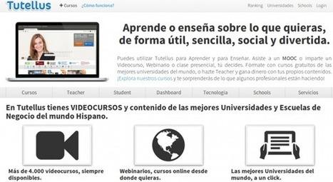 tutellus – Videocursos y MOOCs de universidades, escuelas de negocio y usuarios de España y Latinoamérica | Educacion, ecologia y TIC | Scoop.it