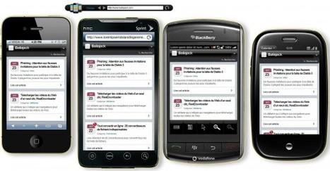 Visualiser votre site Web sur plusieurs modèles de portables, Mobilizer | Time to Learn | Scoop.it