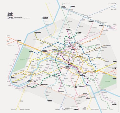 Sublyn est votre plan de métro, léger et rapide d'accès. | Cabinet de curiosités numériques | Scoop.it