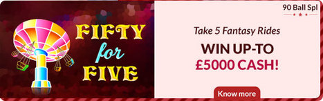 Take 5 fantacy Rides Win up to 5000 Cash at House of  Bingo | FREE BINGO | Scoop.it